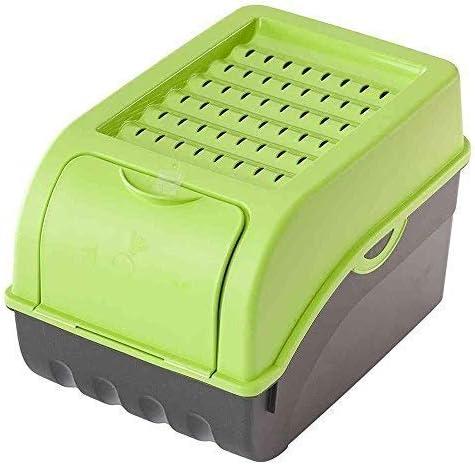 frutas cajas de almacenamiento Rival 2 cajas de conservaci/ón para patatas Pl/ástico cebollas Capacidad de 7,7 litros verduras