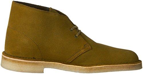 Clarks Originali Mens Desert Boot Foresta Verde Scamosciato