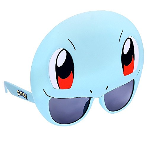 Sun-Staches Costume Sunglasses Pokemon Squirtle Party Favors UV400