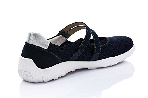 Pantofola Remonte Da Donna - G Blu 942234-5, Taglia 42