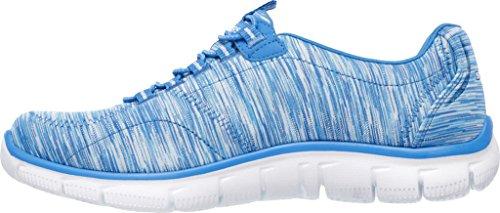 Skechers Donne Di Sport Impero Della Moda Sneaker Blu