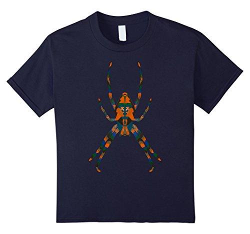 Spider Costume Diy (Kids Halloween Spider Costume for Men, Women & Children 12 Navy)