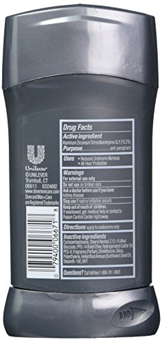 Dove Men+Care Antiperspirant Clean Comfort 2.7 oz, Pack of 6