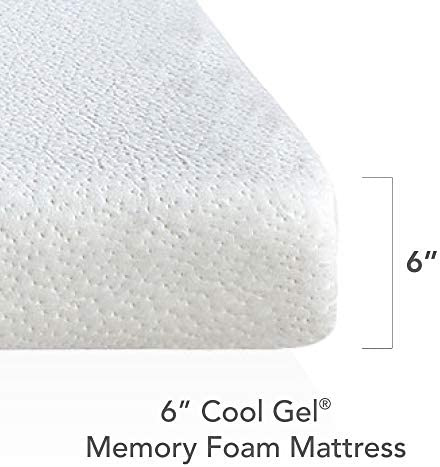 home, kitchen, furniture, bedroom furniture, mattresses, box springs,  mattresses 10 on sale Classic Brands Cool Gel Memory Foam 6-Inch in USA