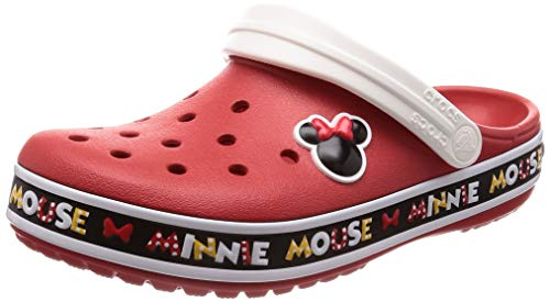 Crocs Crocband Minnie III Clog, Multi, 5 US Men/ 7 US Women M -