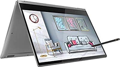 """2019 Lenovo Yoga C930 2-in-1 13.9"""" FHD Touch-Screen Laptop - Intel i7, 12GB DDR4, 256GB PCIe SSD, 2x Thunderbolt 3, Dolby Atmos Audio, Webcam, WiFi, Windows 10, Active Pen, 3 LBS, 0.6"""" Thin, Iron Gray"""