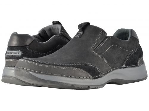 Rockport(ロックポート) メンズ 男性用 シューズ 靴 スニーカー 運動靴 RocSports Lite 5 Slip-On - Black [並行輸入品] B07BL5R4KF