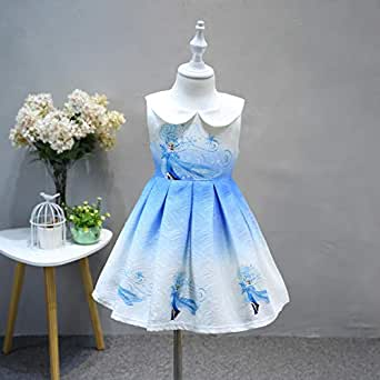 Casual Pleated Dress For Girls