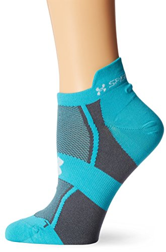 Under Armour Women's HeatGear Speedform Ultra Low Tab Socks (1 ...