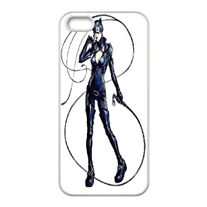 Personalized DIY Catwoman Custom Cover Case For iPhone 5, 5S R3Z193183