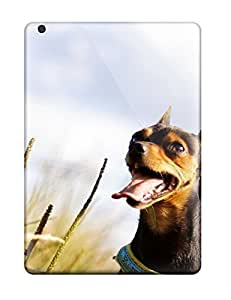 Ipad Case - Tpu Case Protective For Ipad Air- Excited Dog by icecream design