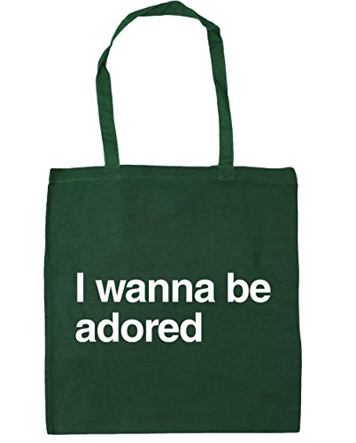42cm Bottle Bag adored I Tote Beach litres 10 x38cm Gym wanna HippoWarehouse be Shopping Green UzxfqO