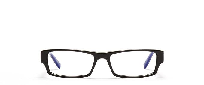 converse unisex q004 black frame glasses 51mm width lens