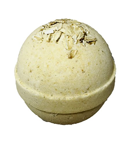 Honey Milk Bath - Oatmeal Milk & Honey BUBBLE Bath Bomb in Gift Box - Large Lush Spa Fizzy Kit, Best Gift Idea for Women, Moms, Teens, Girls - Homemade by Moms in the USA - Two Sisters Spa