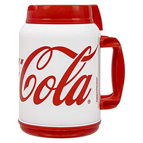 64 oz Coca Cola Mug - Large Red Coke Travel Mug