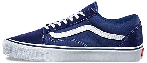 Vans Unisex Old Skool Lite (Canvas) Skate Shoe Blue Depths u9dZL