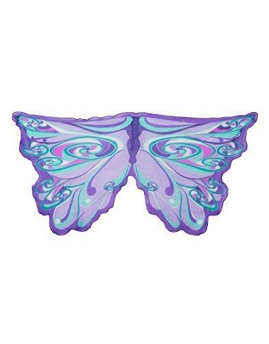 [Wings Fairy Rainbow Purple] (Fairy Godmother Costume Toddler)