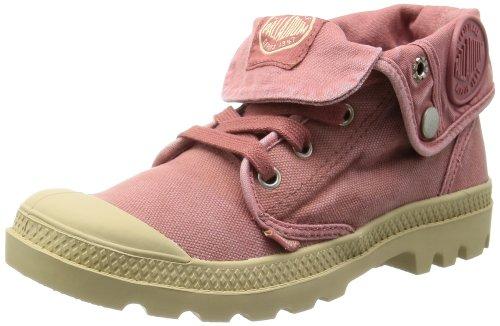 Palladium Women's Baggy Low Boot,Fuchsia/Putty,9 M US