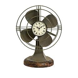 IMAX 84143 Thatcher Vintage Fan Clock