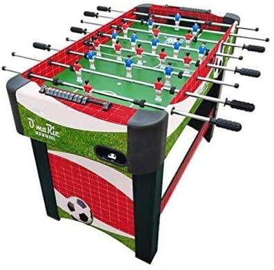 YUHT Futbolín Infantil,Futbolín de Madera,Competencia fútbol de la Tabla Fútbol Foosball tamaño de Mano de fútbol Sala de recreación for la Sala Arcade Juego Metal 48