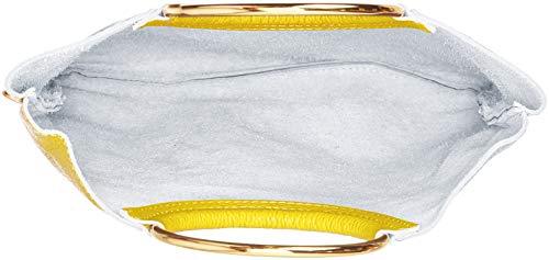 Sacs Épaule Chicca Borse Portés Jaune giallo Cbc34011tar TnqR84fw