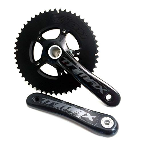 (Vision Trimax Compact TT BB30 w/o BB Bicycle Crankset - CK-OSC6032CS (36/52T - 165mm))