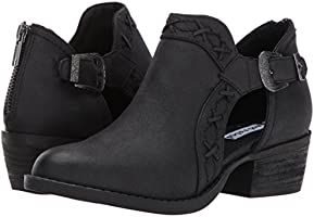 c2bf670ddfd43 Not Rated Women's Kikki Ankle Bootie, Black, 6 M US: Amazon.com ...