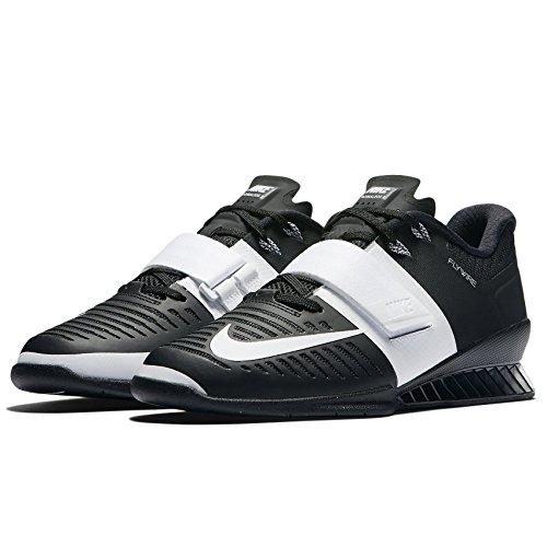 Nike Wmns Romaleos 3 Nero / Bianco 878557-001 Scarpe Da Donna Per Sollevamento Pesi