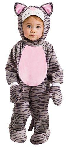 Fun World Toddler Kids Stripe Kitten Kitty Cat Costume, Multi, Large