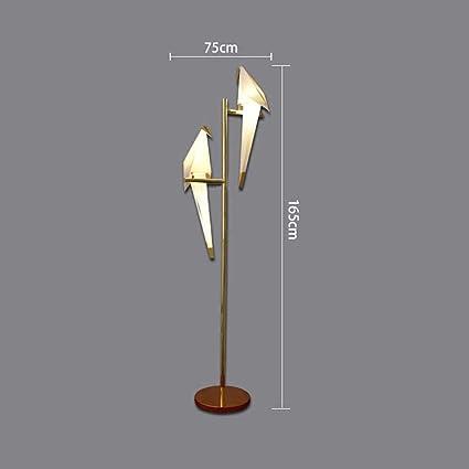 Tinsinss Nordic Creative Led Lámpara de pie Decorar ...