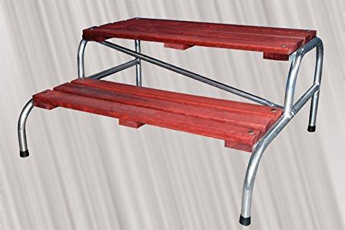 Vira Scala metallica e legno per modulo