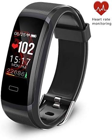 seegar Pulsera de Actividad Inteligente con Pulsómetro, Contador de Pasos, rastreo de rutas,GPS,Monitor de Actividad Impermeable IP67 para iOS y Android: Amazon.es: Deportes y aire libre