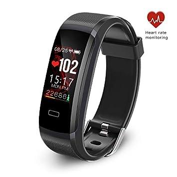 seegar Pulsera Actividad, Rastreador de Actividad Personalizado con Monitor de Ritmo cardíaco y sueño,