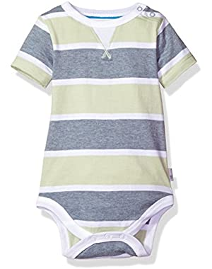 Baby Boys' Organic Short Sleeve Bodysuit