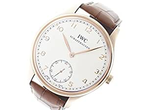 IWC Portuguese mechanical-hand-wind mens Watch IW545409 (Certified Pre-owned)