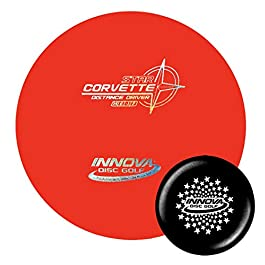 Innova Discs Golf Star Corvette Disc Golf Driver with Limited Edition Stars Stamped Innova Mini – Colors Will Vary
