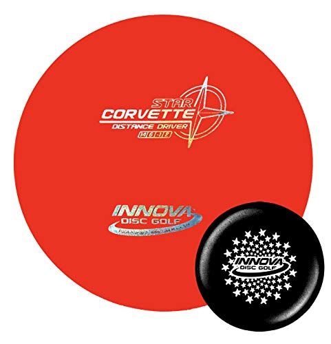 Innova Discs Golf Star Corvette Disc Golf Driver with Limited Edition Stars Stamped Innova Mini - Colors Will Vary -