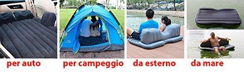 Giardino Terrazzo Mare Camping Pompa elettrica Letto Materasso Divano Gonfiabile AUTO Sedili Posteriori Cuscini