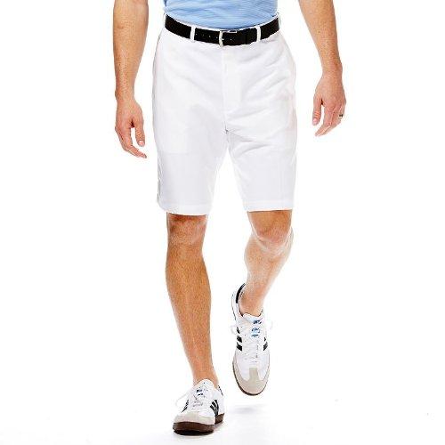 Haggar Men Cool 18 Flat Front Shorts 30w Black 11street