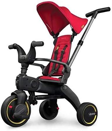 Triciclo Ultra Compacto Liki Doona Rojo