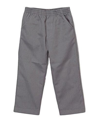 Grey School Pants For Boys