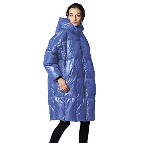 Blue Manteau Y Doudoune Légère amp;w Femmes Femme Dame D'hiver Fashion Matelassé Hiver Veste Ultra Compressible7 S66qra