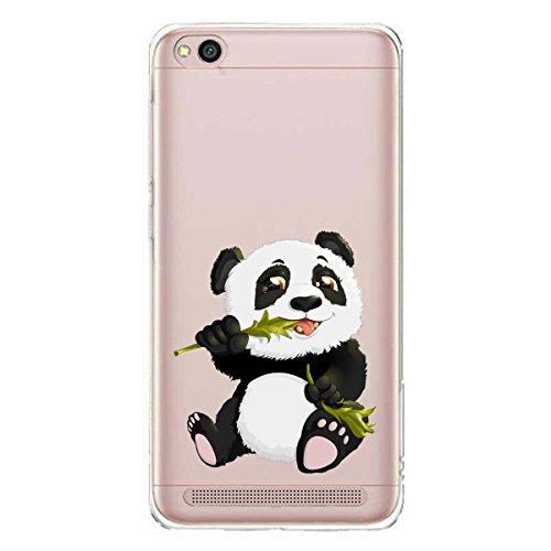 Funda para Xiaomi Redmi 5A , IJIA Transparente Adorable Bebé De Dibujos Animados TPU Silicona Suave Cover Tapa Caso Parachoques Carcasa Cubierta para Xiaomi Redmi 5A (5.0) (WM135) WM122
