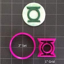 Green Lantern Fondant Cutter/Cupcake Topper/Cookie Topper (Size 4 Inch)
