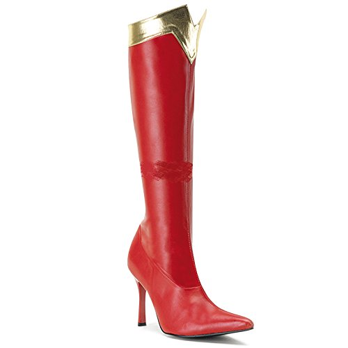 Wonder-130 (8) Womens Red Boots (Wonder Woman Boots)