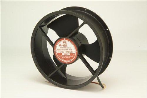 Orion Fans OD254AP-24LB Fans /& Blowers Fan 254x89 24VDC Ball Wire 480cfm