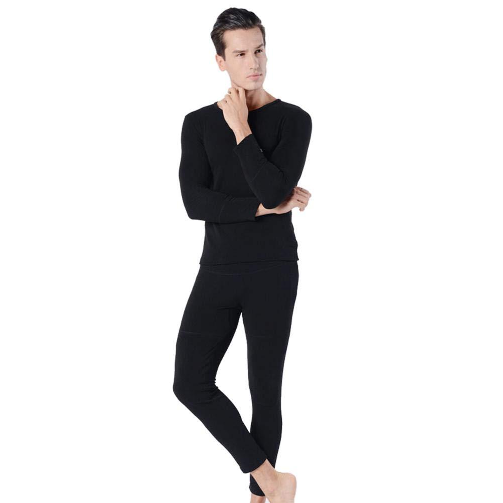 Luerme Pyjamas Set Damen Herren Winter elektrisch beheizt Thermo Unterw/äsche waschbar beheizte Kleidung USB Charging