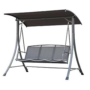Angel Living Outdoor Garden Patio textileno Swing Chair Hamaca suspendida de 3plazas