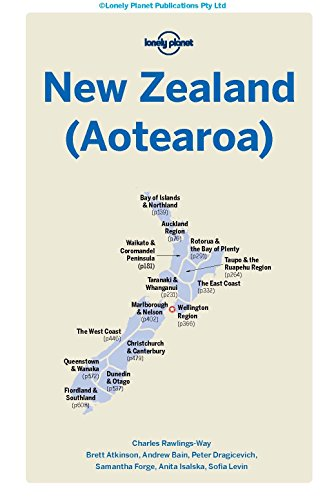 413HnkOtPSL - Lonely Planet New Zealand (Travel Guide)