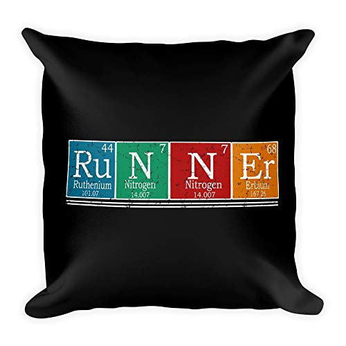 - Hand Wooden Customizable Decorative Throw Pillow Covers Runners Periodic Table Men Women Tee Gifts Cases for Sofa Bedroom Car Pillows Square 18 x 18 inch, 45 x 45 cm